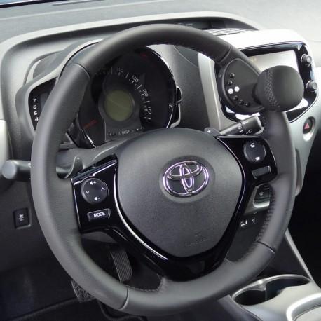 k nobi pour toyota aygo 2010 2015 boule au volant pour conduire a. Black Bedroom Furniture Sets. Home Design Ideas